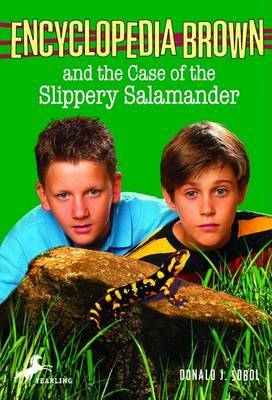 The Case of the Slippery Salamander by Donald J Sobol image