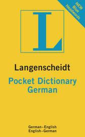 German Langenscheidt Pocket Dictionary image
