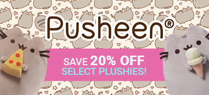 20% off Pusheen Plush