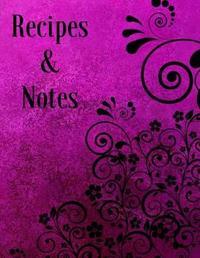 Recipes & Notes by Mahtava Journals