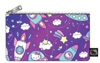 Loungefly: Hello Kitty - Space Print Pencil Case