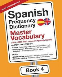 Spanish Frequency Dictionary - Master Vocabulary by Mostusedwords