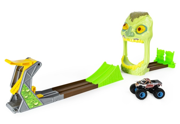 Monster Jam: 1:64 Scale Playset - Zombie Madness