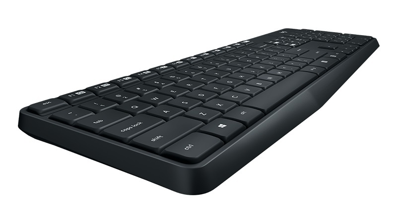 Logitech MK315 Quiet Wireless Keyboard and Mouse Combo image