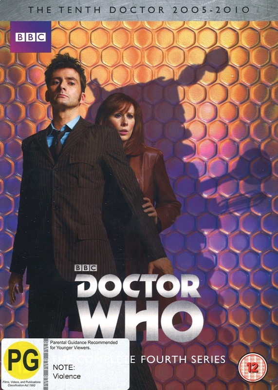 Doctor Who: The Complete Fourth Series on DVD