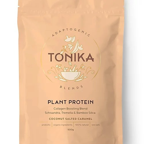 Tonika Plant Based Protein - Coconut Salted Caramel (500g)