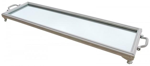 LaVida: Mirror Tray - White (Extra Long)