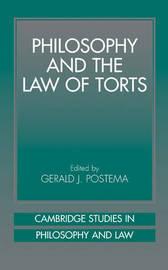 Cambridge Studies in Philosophy and Law