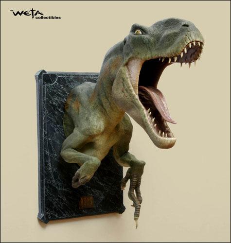 King Kong Venatosaurus Bust By Weta At Mighty Ape Nz