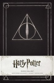 Harry Potter Deathly Hallows Hardcover Ruled Journal by Insight Editions