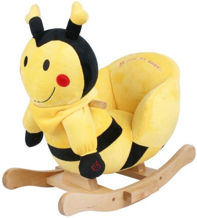 Rocking Bee - Black and Yellow