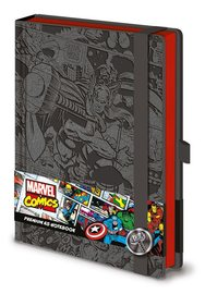 Marvel Comics: A5 Premium Notebook - (Retro Thor)