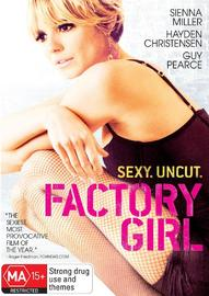 Factory Girl on DVD