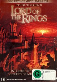 Inside Tolkien's Lord Of The Rings (3 Disc Box Set) on DVD image