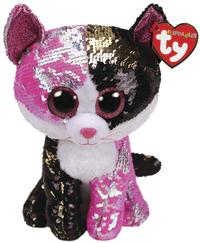 86d41f7419e TY Beanie Boo  Flip Malibu Cat - Medium Plush