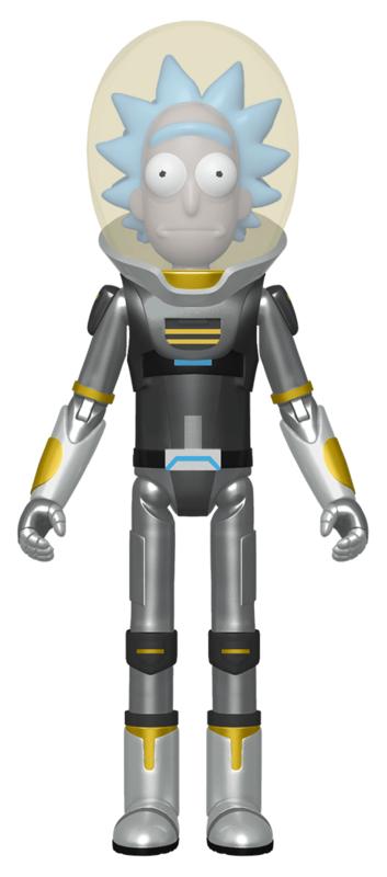 "Rick & Morty: Rick Space Suit (Metallic) - 5"" Action Figure"