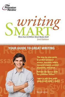 Princeton Review: Writing Smart 2nd by Marcia Lerner image