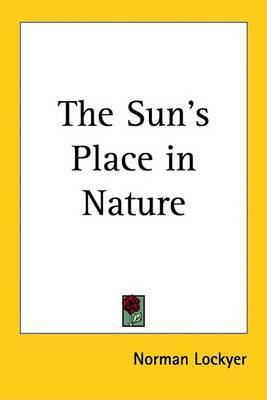 The Sun's Place in Nature by Norman Lockyer image