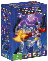 The Transformers: Generation One - Remastered Complete Collection Box Set DVD