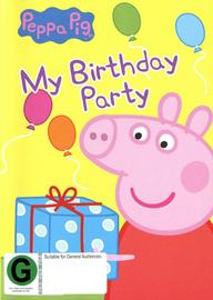 Peppa Pig: My Birthday Party on DVD