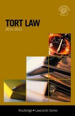 Tort Lawcards: 2010-2011