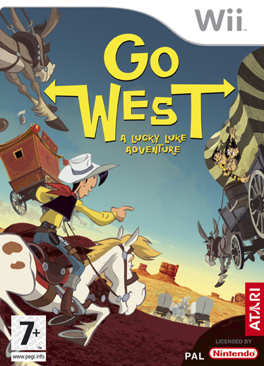 Lucky Luke: Go West!  for Nintendo Wii image