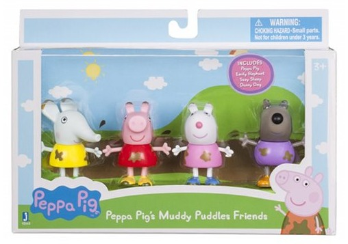 Peppa Pig Muddy Puddles Friends Pack Toy At Mighty Ape Nz