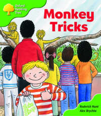 Oxford Reading Tree: Stage 2: Patterned Stories: Monkey Tricks by Roderick Hunt image