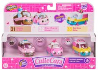 Shopkins: Cutie Cars 3-Pack - Bumper Bakery