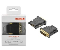 Ednet DVI-D (M) to HDMI Type A (F) Adapter image
