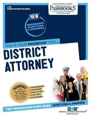 District Attorney by National Learning Corporation image
