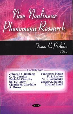 New Nonlinear Phenomena Research image