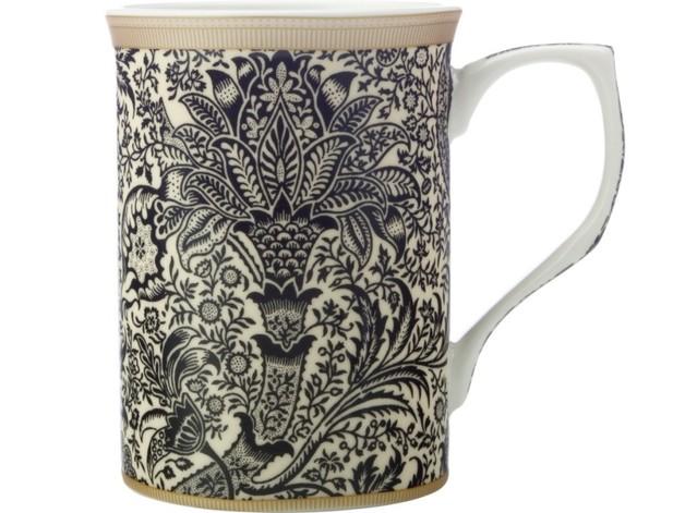 Casa Domani: William Morris Mug - Black Seaweed (300ml)