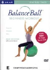 Ballance Ball Beginners Workout on DVD