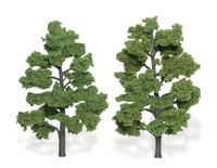 Woodland Scenics Light Green Trees (2 pack Medium)