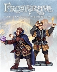 Frostgrave - Soothsayer & Apprentice