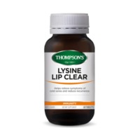 Thompsons Lysine Lip Clear (60 Tablets)