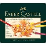 Faber Castell: Polychromos Artist Colouring Pencils (Tin of 24)