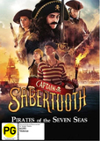 Captain Sabertooth on DVD