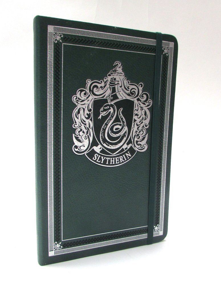 Harry Potter Slytherin Hardcover Ruled Journal by Insight Editions image