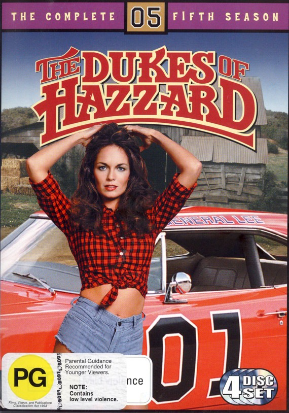 Dukes Of Hazzard, The - Complete Season 5 (8 Disc Set) on DVD image