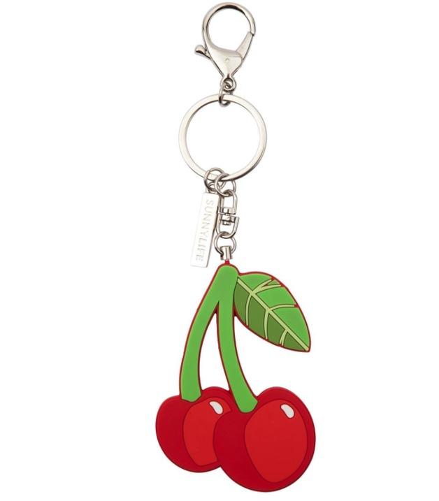 Sunnylife Cherry Key Ring