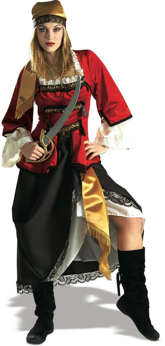 Rubie's: Pirate Queen - Deluxe Costume (Medium) image