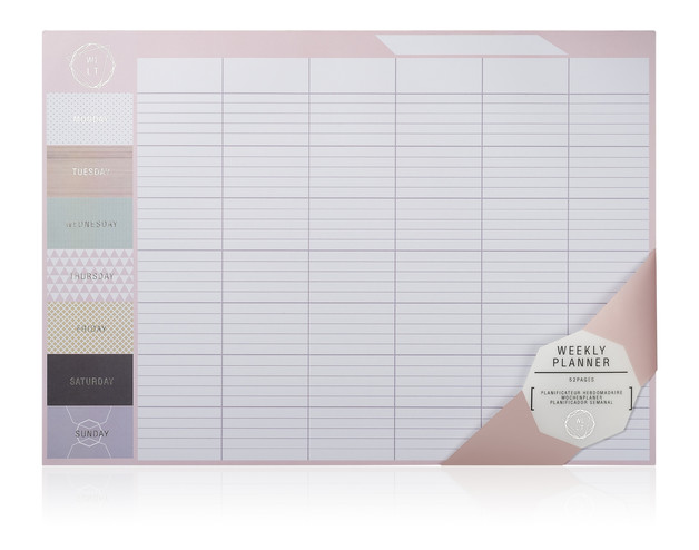 NPW: We Live Like This Weekly Planner (A3, 52 sheets)