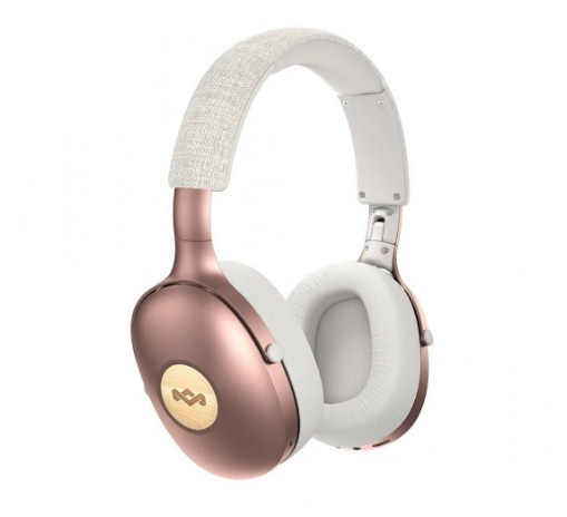 Marley: Positive Vibration XL Over Ear Wireless Headphones - Rosegold
