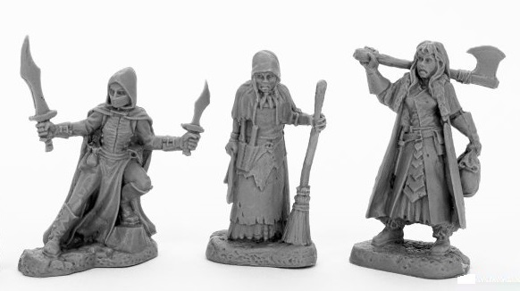 Dark Heaven: Bones Black - Women of Dreadmere (3)