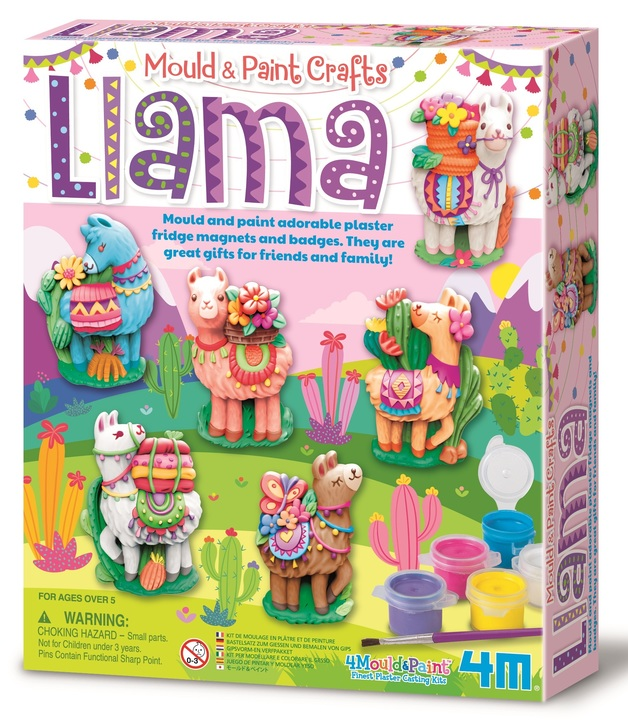 4M: Mould & Paint Craft Kit - Llama