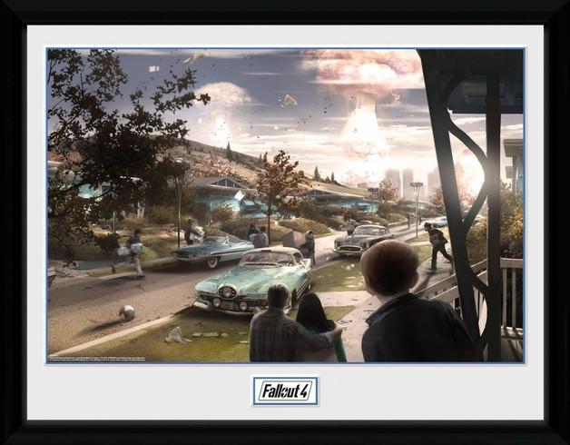 Fallout 4: Sanctuary Hills Panic - Collector Print (41x30.5cm)