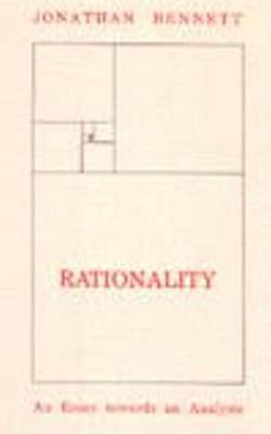 Rationality by Jonathan Francis Bennett image