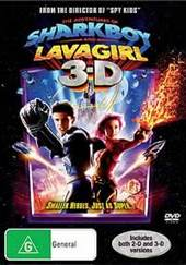 The Adventures Of Sharkboy And Lavagirl on DVD
